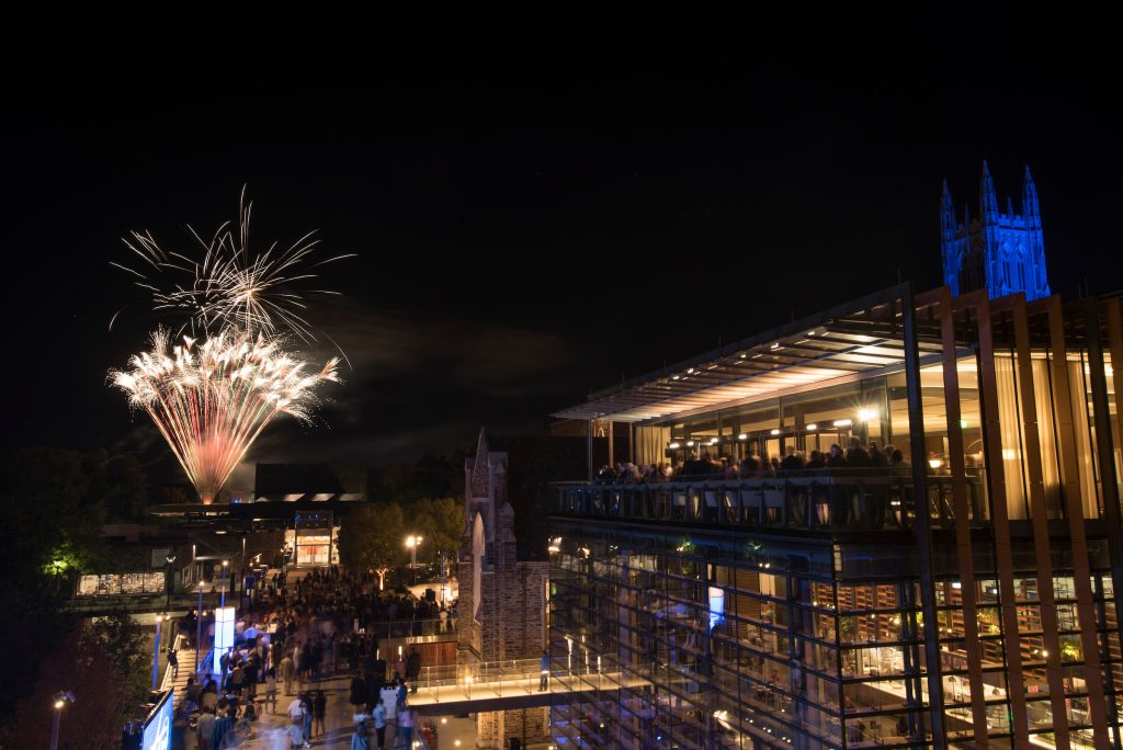 Fireworks to celebrate in inauguration